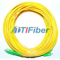 Buy cheap Telecommunication SC/APC-SC/APC Singlemode 9/125 , G652D Duplex Fiber Patch Cord from wholesalers