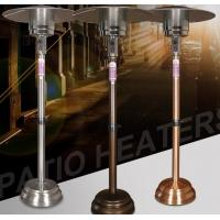 China Remote Control Round Natural Gas Patio Heater 80~120 Square Meters Heating Area on sale