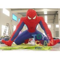 China Giant Advertising Balloon Inflatable Spiderman Model For Event Parade Promotion wholesale