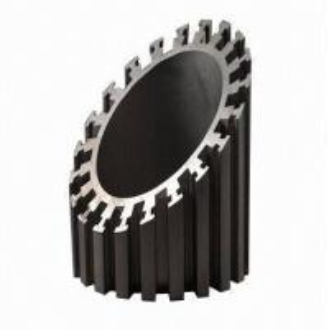 China Alodine Surface Treatment Aluminum Heatsink Extrusion Profiles For Machines wholesale