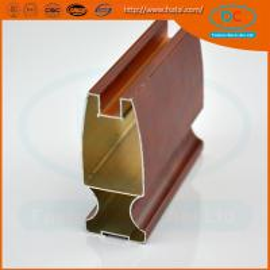 China China 2017 Champage brush aluminum window profile, Matt aluminum window section, window profile wholesale