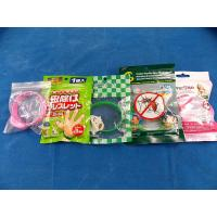 China Plastic Grip Seal Bags Clear Window For Kids Mosquito Repellent Bracelet on sale