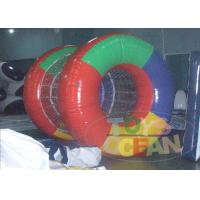 China Outdoor Sport Inflatable Water Game Round Roller For Adult PVC wholesale