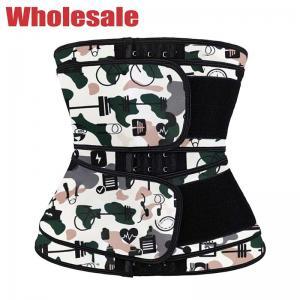 China Custom 3XS Neoprene Slimming Belt Neoprene Waist Trainer With Hook wholesale