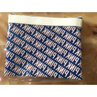 Buy cheap 0.4MM Clear Plastic Zipper Pouch , PVC Cosmetic Bags With 0.1-0.8MM Thickness from wholesalers