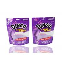 China Eco - Friendly Printed Aluminum Foil Stand Up Pouch One Side Transparent Metalized on sale