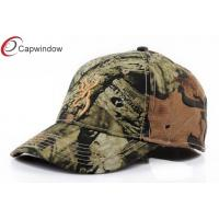 China Tropical Rain Forest Camo Baseball Hat Embroidered Baseball Caps With 3D Embroidery wholesale