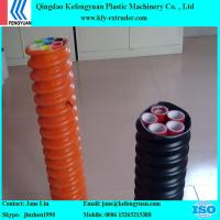 China COD(Corrugated Optic Duct) pipe making machine extruder manufacture wholesale