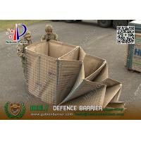 China Mil3 1m high HESCO Defensive Gabion Barrier    China Gabion Barrier Factory wholesale