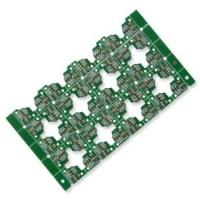 China Model HSPCB1648 OEM / ODM Rigid Double Side PCB Assembly Green Solder Mask wholesale