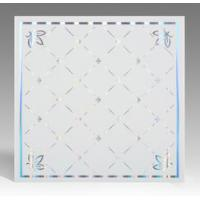 China Light Weight Fireproof PVC Ceiling Boards , Decorative Plastic Ceiling Tiles wholesale