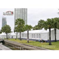 China 400 People Transparent Outdoor Party Tents For Trade Show And Warehouse wholesale