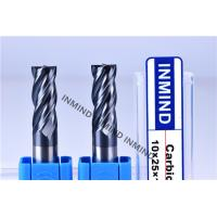 China High Feed End Mill For Hardened Steel , Polish Surface High Speed Steel Cutter wholesale