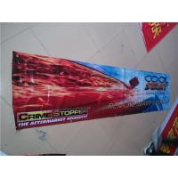 China Single Sided Rectangle PVC Banner Printing , Outside Business Advertising Banners Customized wholesale