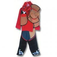 China Children's Suit, Made of 100% Polyester, Available in Brown wholesale
