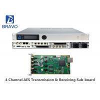 China MPEG - 2 / DVBS Professional SD / HD Digital Headend Equipment LCD + Control Buttons on sale