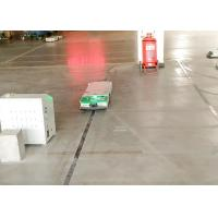 China Intralogistics AGV Cart Single Way Rail Guidance Tunnel Tractor for Fabric Industry wholesale