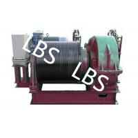 China Electric Winding Hoist Wrie Rope Electric Marine Winch Lifting Capacity 10T , 30T wholesale