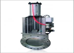 China Food Industry Wafer Type SS316 Pneumatic Slide Valve wholesale