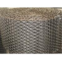 China Drive Balanced Weave Wire Mesh Belt Argon Welding Edge With ISO Certification wholesale