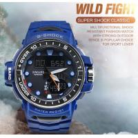 Quality Smael Fashion Wild Fight  Multifunction Men S Shock Waterproof 50m Dual Time Chronograph Wrist Watche 1626 for sale
