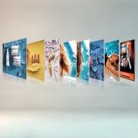 China Free Standing Seg Photo Fabric Picture Frames Display For Exhibition Shopping Mall wholesale