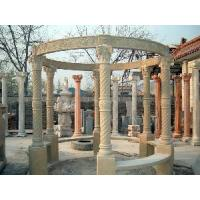 China Nice Carved Six Columns Marble Arbour (LY-496) wholesale