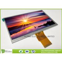 "7.0"" RGB Interface Lcd Display 800 X 480 , Wide View High Brightness LCD Module"