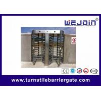 China Outdoor Bi-directional Automatic Turnstiles Security Entrance Gates on sale