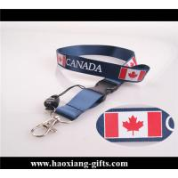 China new fashion 25*700mm sublimation neck polyester lanyard for key with your logo wholesale