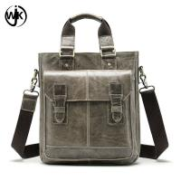 China low MOQ office bag for men leather pure color leather bag for men Imported First Layer of cowhide hand bag men wholesale