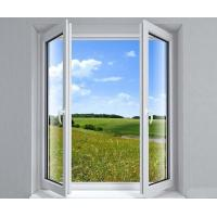 China Household White Inward Swing Aluminium Casement Windows Powder Coated wholesale