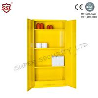 Buy cheap 36 Litre Hazardous Storage Cabinet 3 Shelves Large Customized Metal Cabinets from wholesalers