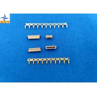 China 1.25mm Pitch Miniature Crimping Connector UL-listed Grey Color Lvds Display Connector wholesale
