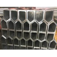 China 6061 T6 Polygon Tube Aluminium Frame Profile , Aluminum Extruded Shapes For Industrial Material wholesale