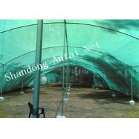 Quality High Density Polyethylene Knitted Agriculture Shade Net With 30%~95% Shade Rates for sale