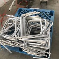 6061T6 bending aluminum tubing OD30mm x T1.5mm x L1000mm with Anodized