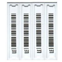 China Direct Thermal Soft Barcode Security Labels With Raised Logo wholesale