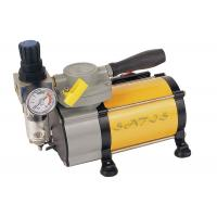 China Oil Free industrial , laboratory  Mini Air Compressor With Air Pressure Gauge for Airbrushing wholesale