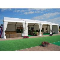 China Custom White PVC Fabric Outdoor Party Marquee Standard UV - Resistant wholesale