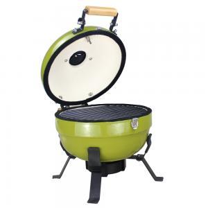 China Indoor Mini Green Egg Hibachi Grill , Kamado Smoking Ovens And Barbecues on sale