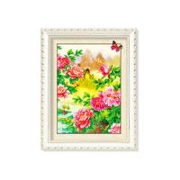 China Flowers And Plants 5D Images Lenticular Art Prints For Restaurant Decor wholesale
