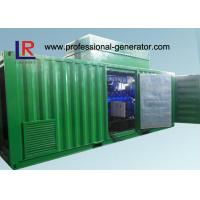 China 8 Cylinder AVR Brushless Natural Gas Generators Cogeneration Set 500kw with NPT Patent on sale