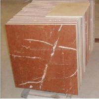 China Rojo Alicante Marble Tiles / Red Marble Tiles (LY-095) wholesale