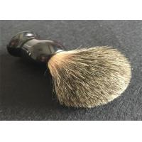 Wet Badger Hair Luxury Shaving Brush Black Resin Handle Shaving Brush Kit