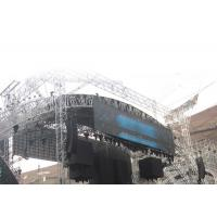 China 16 Bit Outdoor Video Screen IP65 High Brightness LED Display For Advertising wholesale