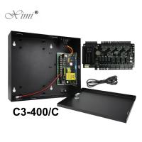 China Intelligent Four Doors Access Control Panel C3-400 Real Time Monitoring wholesale