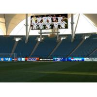 Quality P12 Full Color Sport Perimeter LED Display For Football Playground 192mm×96mm for sale
