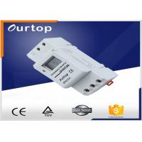 China Gray Color Programmable Digital Timer Switch AC180V ~ 250V Voltage Limit wholesale