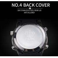 Quality Smael Sports Casual Series Men Watches Dual Time Alloy Case Silica Gel Band 5 for sale